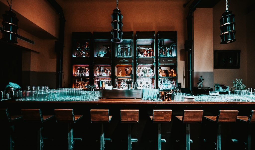 Die Bar von Vorne